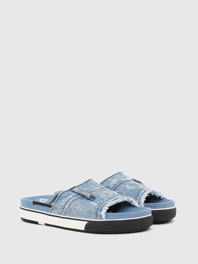 Diesel - SA-GRAND OT, Blue Jeans - Chanclas - Image 2