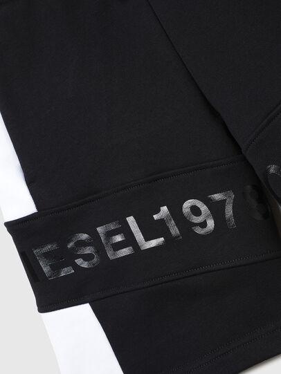 Diesel - PSHAM, Negro/Blanco - Shorts - Image 3