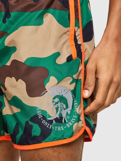 Diesel - BMBX-REEF-40, Verde Camuflaje - Bañadores boxers - Image 3