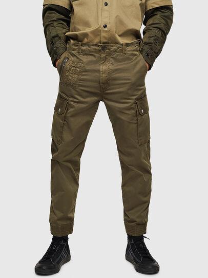 Diesel - P-PHANTOSKY, Verde Militar - Pantalones - Image 1