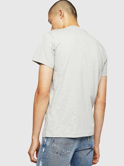 Diesel - T-DIEGO-B6, Gris Claro - Camisetas - Image 2