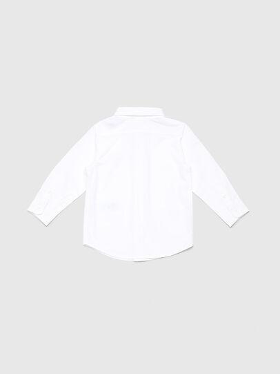 Diesel - CSBILLB, Blanco - Camisas - Image 2