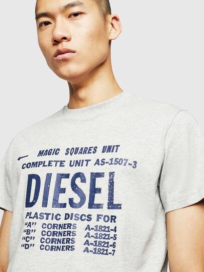 Diesel - T-DIEGO-B6, Gris Claro - Camisetas - Image 3