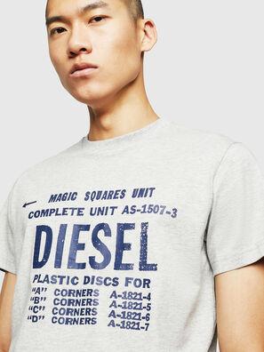 T-DIEGO-B6, Gris Claro - Camisetas