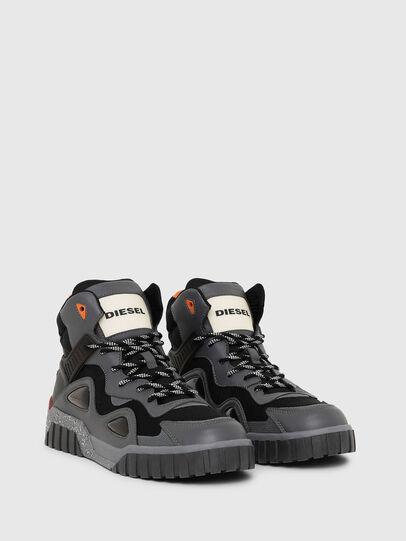 Diesel - S-RUA SP, Gris oscuro - Sneakers - Image 2
