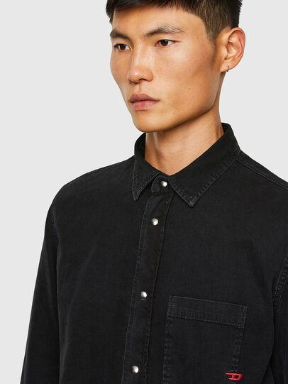 Diesel - D-WEAR-B1, Negro - Camisas de Denim - Image 3