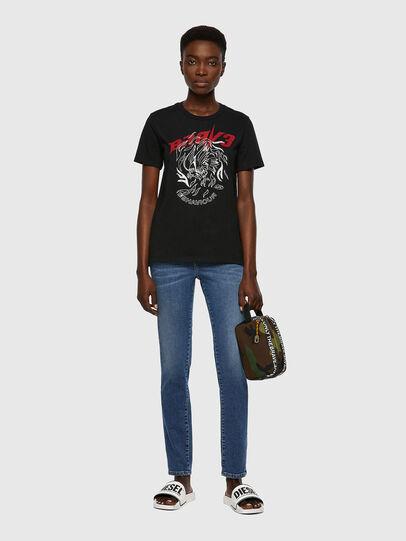 Diesel - T-SILY-B2, Negro - Camisetas - Image 4