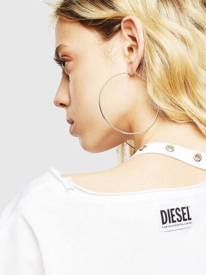 Diesel - T-JALA, Blanco - Camisetas - Image 5