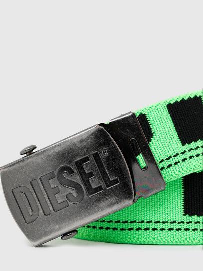 Diesel - BOXXY, Verde Fluo - Cinturones - Image 2