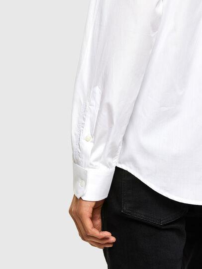 Diesel - S-WEIR, Blanco - Camisas - Image 4