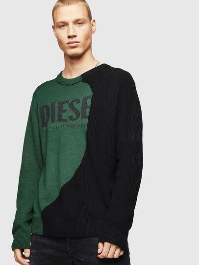 Diesel - K-HALF, Verde/Negro - Punto - Image 1