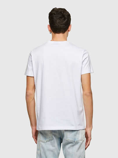Diesel - T-DIEGOS-LAB, Blanco - Camisetas - Image 2