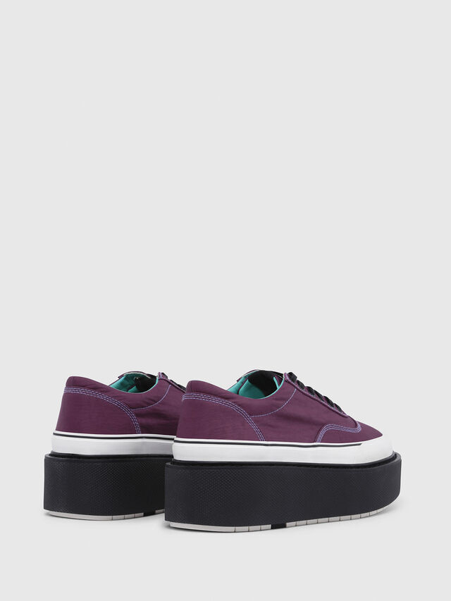 Diesel - H-SCIROCCO LOW, Violeta Oscuro - Sneakers - Image 3