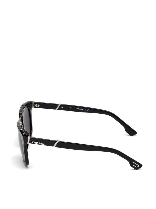Diesel - DL0212, Negro - Gafas de sol - Image 3