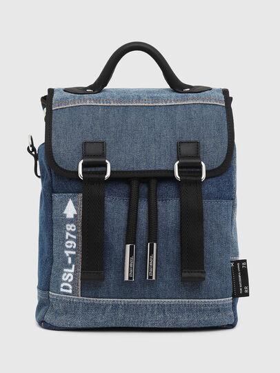 Diesel - DENIPACK, Blue Jeans - Mochilas - Image 1