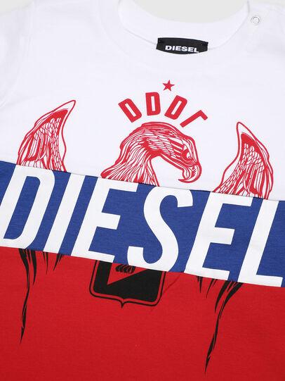 Diesel - TRICKYB, Blanco/Rojo/Azul - Camisetas y Tops - Image 3