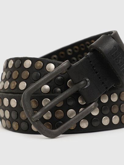 Diesel - B-FRAM, Negro - Cinturones - Image 2