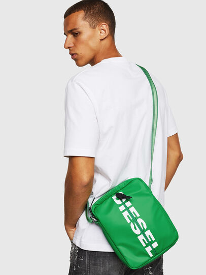 Diesel - F-BOLD SMALL CROSS, Verde - Bolso cruzados - Image 6