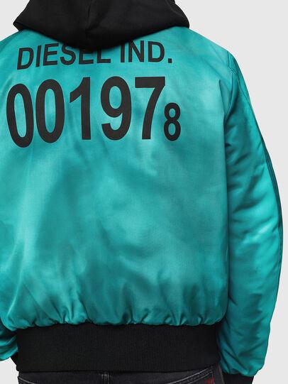 Diesel - J-FOREST, Verde Agua - Chaquetas - Image 5