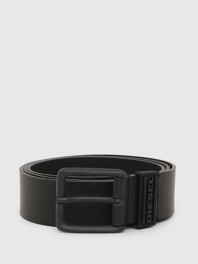 Diesel - B-RUBLO, Negro - Cinturones - Image 1