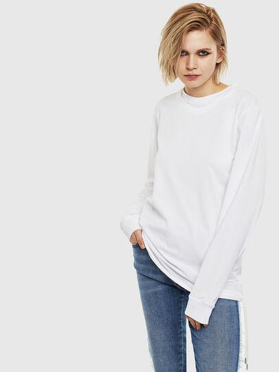 Diesel - T-HUSTY-LS, Blanco - Camisetas - Image 2