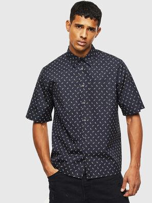 S-ATWOOD-B, Negro - Camisas