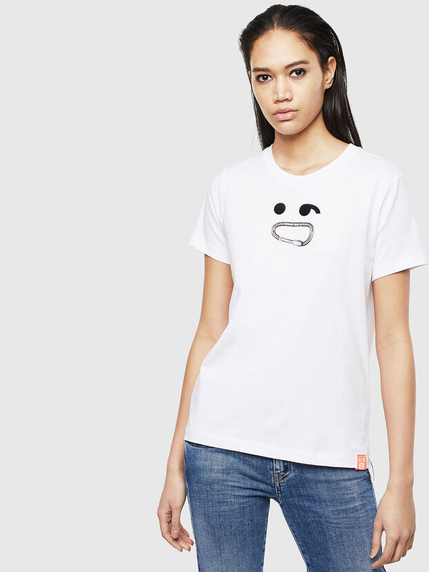 T-SILY-S8, Blanco - Camisetas