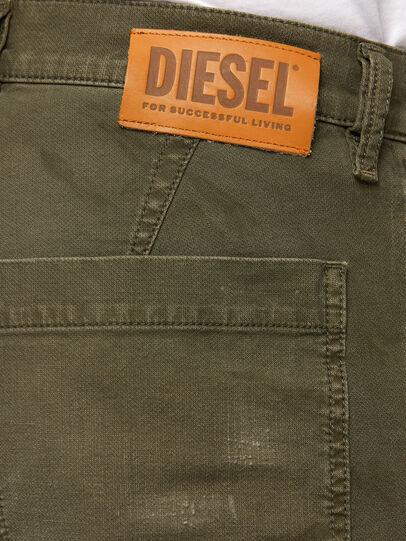 Diesel - D-Azzer JoggJeans 069NF, Verde Militar - Vaqueros - Image 4
