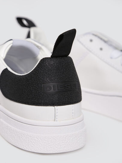 Diesel - S-CLEVER LOW W, Blanco/Negro - Sneakers - Image 4