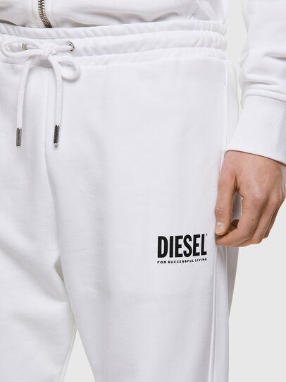 Diesel - P-TARY-ECOLOGO, Blanco - Pantalones - Image 3