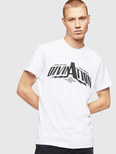 Diesel - T-DIEGO-B16, Blanco - Camisetas - Image 1