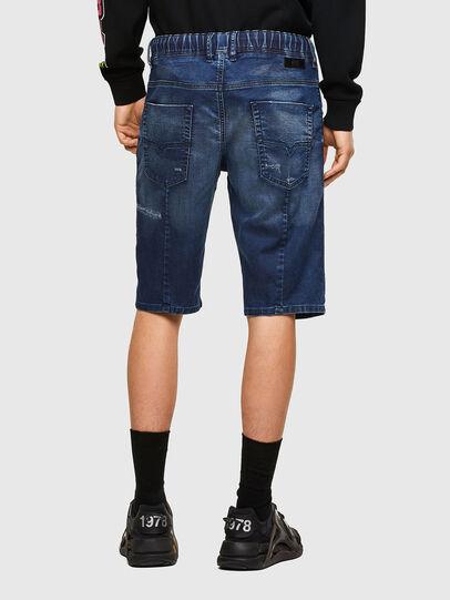 Diesel - D-KROOSHORT JOGGJEANS, Azul medio - Shorts - Image 2