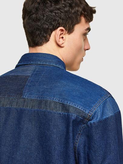 Diesel - D-HORUS, Azul - Camisas de Denim - Image 4