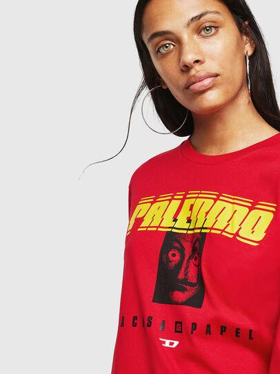 Diesel - LCP-T-JUST-LS-PALERM, Rojo - Camisetas - Image 5