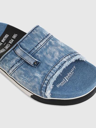 Diesel - SA-GRAND OT, Blue Jeans - Chanclas - Image 5