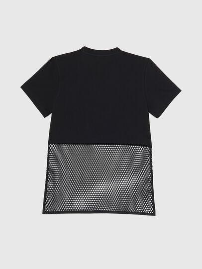 Diesel - BFOWT-BLOKY-P, Negro - Camisetas - Image 2
