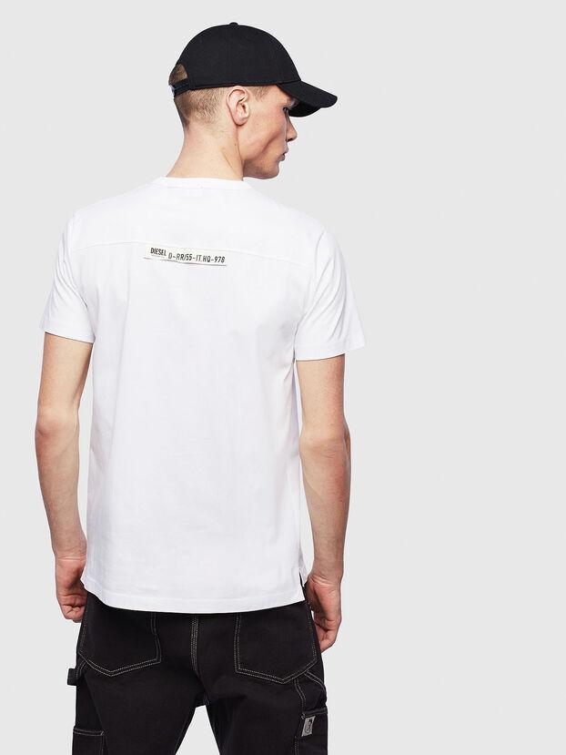 T-RABEN-POCKET, Blanco - Camisetas
