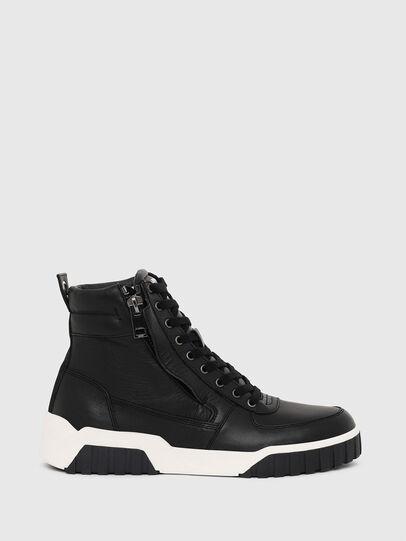 Diesel - S-RUA MID, Negro - Sneakers - Image 1