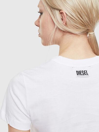Diesel - T-SILY-S5, Blanco - Camisetas - Image 3