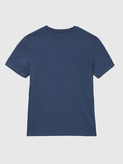 Diesel - UMLT-JAKE, Azul Noche - Camisetas - Image 2