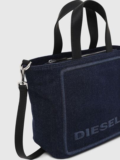 Diesel - PUMPKIE, Azul Oscuro - Maletines y Bolsos De Mano - Image 4