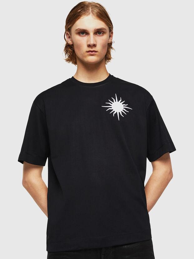 TEORIALE-X1, Negro - Camisetas