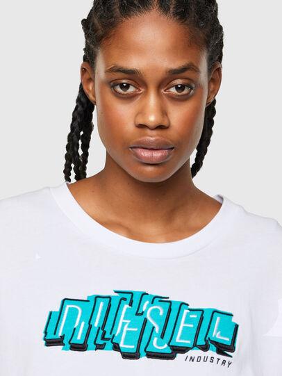 Diesel - T-BOWLESS-A1, Blanco - Camisetas - Image 3