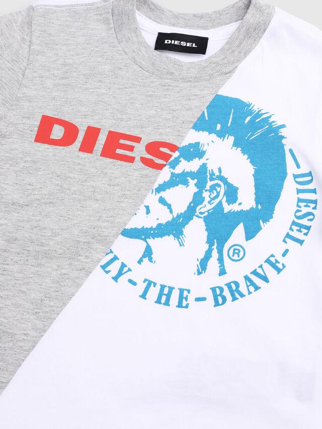 Diesel - TICAB-R, Blanco/Gris - Camisetas y Tops - Image 3