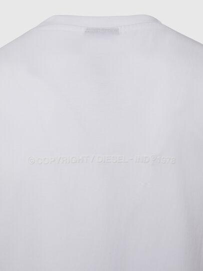 Diesel - T-TUBOLAR-X20, Blanco - Camisetas - Image 4