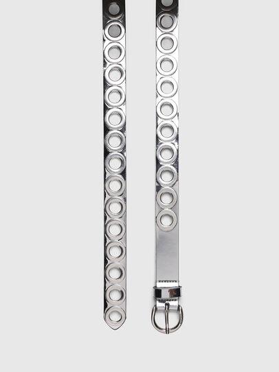 Diesel - B-SPARK, Plata - Cinturones - Image 3
