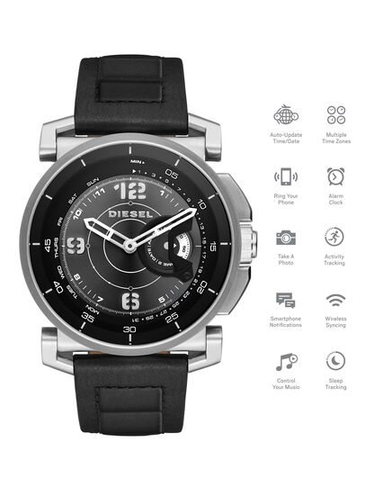 Diesel - DT1000, Negro - Smartwatches - Image 1