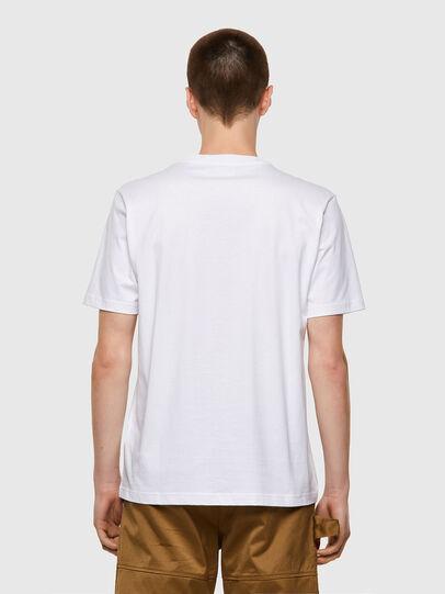 Diesel - T-JUST-B53, Blanco - Camisetas - Image 2