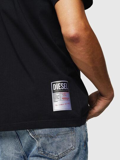 Diesel - T-JUST-B26, Negro - Camisetas - Image 3