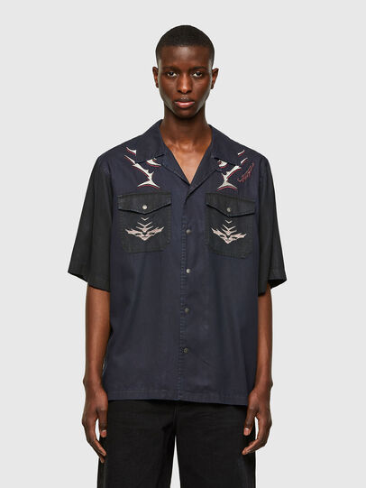 Diesel - D-MITCH-SP, Negro - Camisas - Image 1